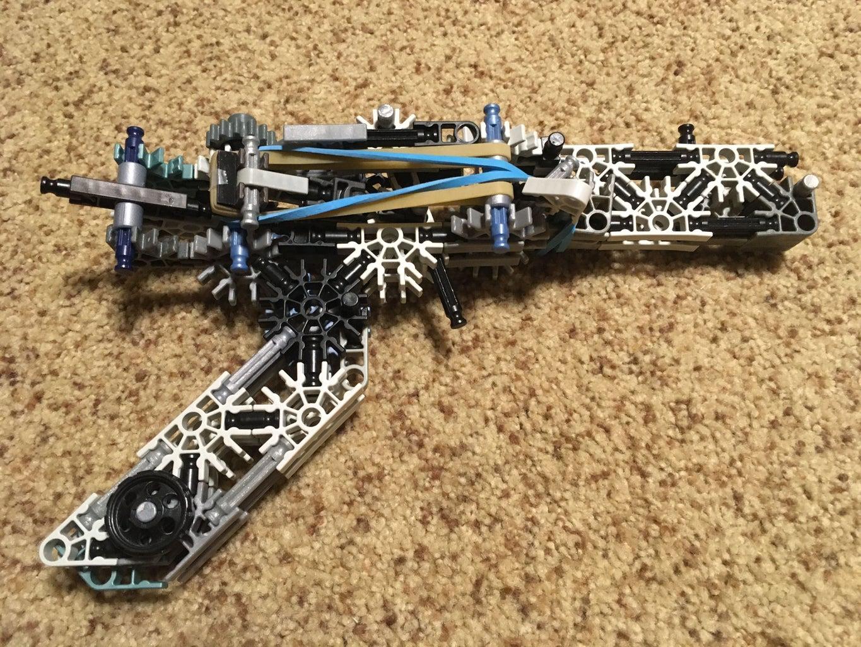 K'nex Semi-auto Rubber Band Gun