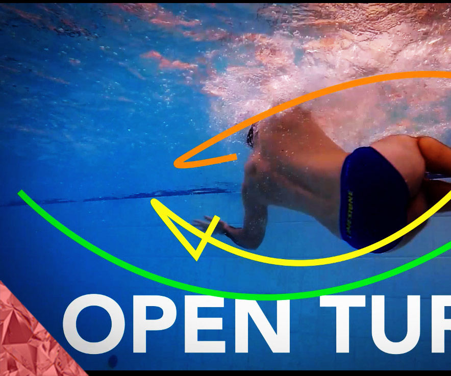 Open Turns Technique Tutorial. Butterfly and Breastroke Turns