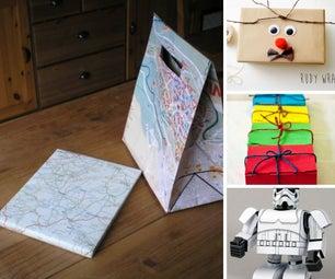 50 Creative Gift Wrap Ideas