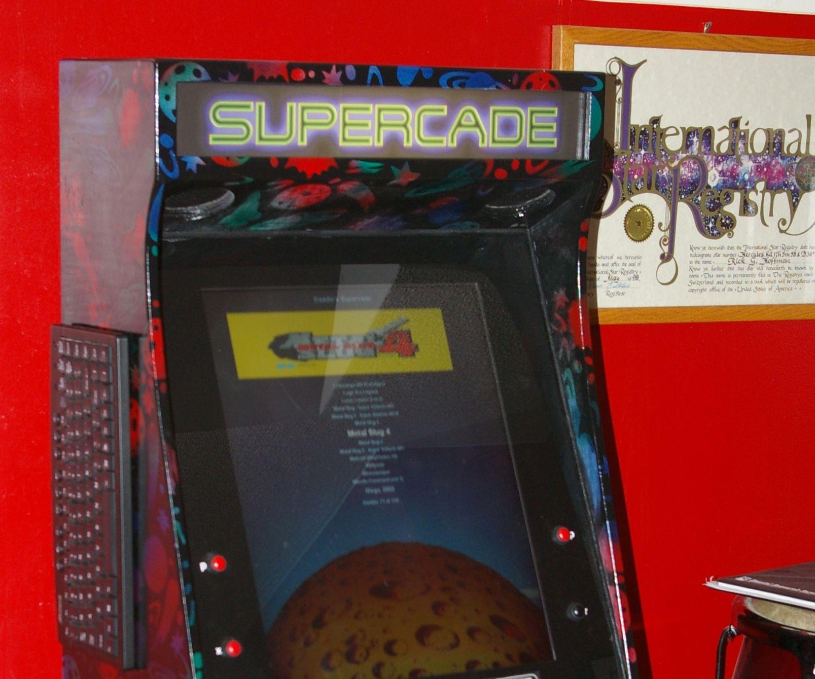 Supercade - How to Design and Build a Bar Top MAME Arcade