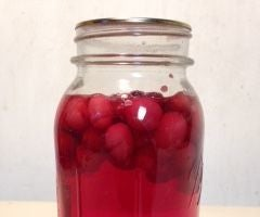 DIY Cranberry Juice and Dried Cranberries