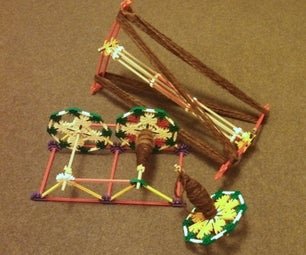 K'nex Drop Spindle, Lazy Kate and Niddy Noddy