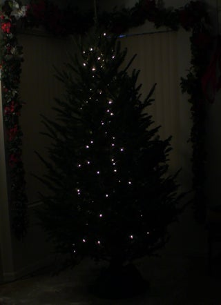 The Art Of Lighting A Christmas Tree Vertical Vs Horizontal Instructables