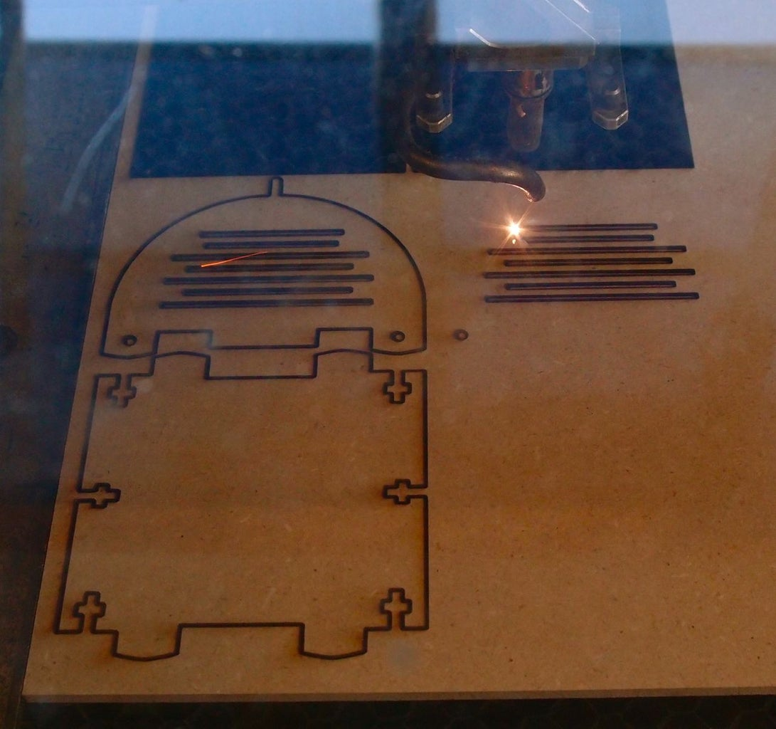 The Fun Part: Using the Laser Cutter