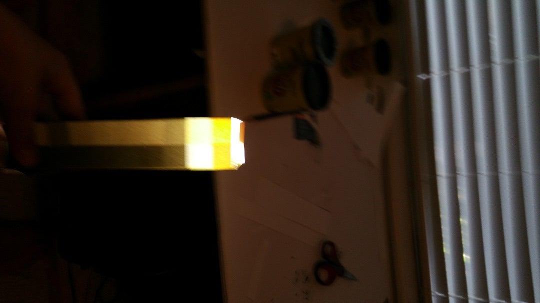 PaperCraft Minecraft Light-Up Torch