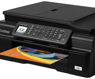 Disassembling a Brother MFC-J450DW Printer