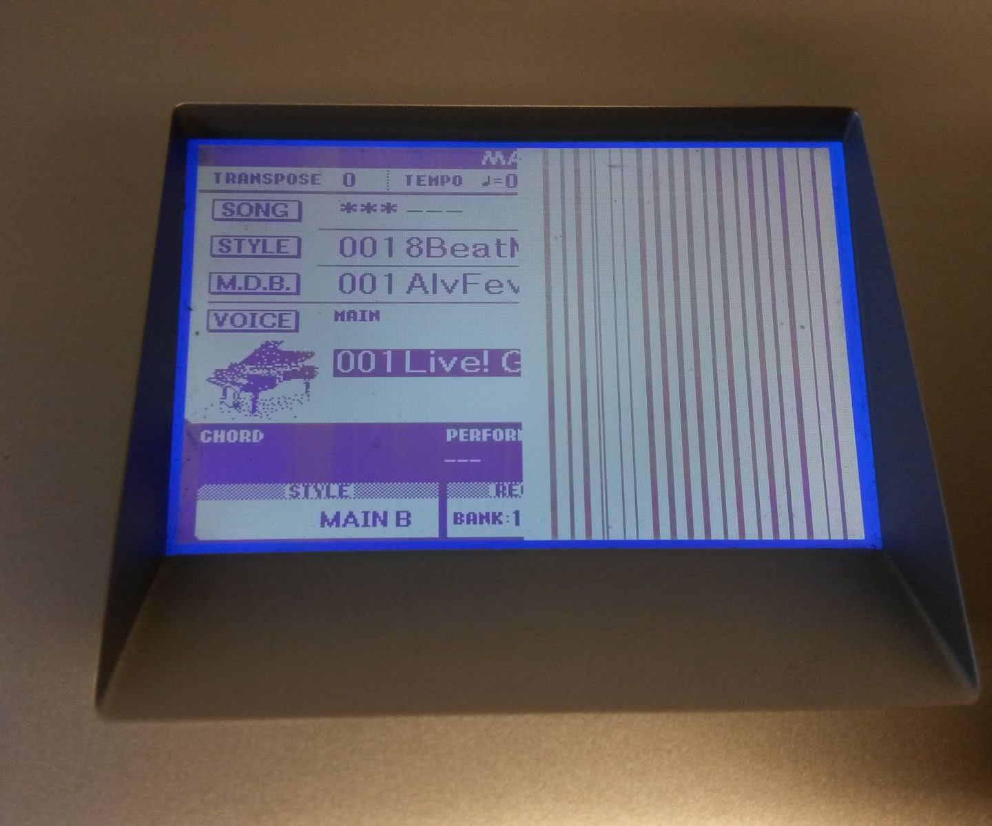 YAMAHA DGX-620 LCD Fix With NO Cost!
