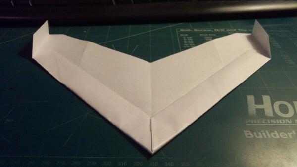 How to Make the SkyOmniScimitar Paper Airplane