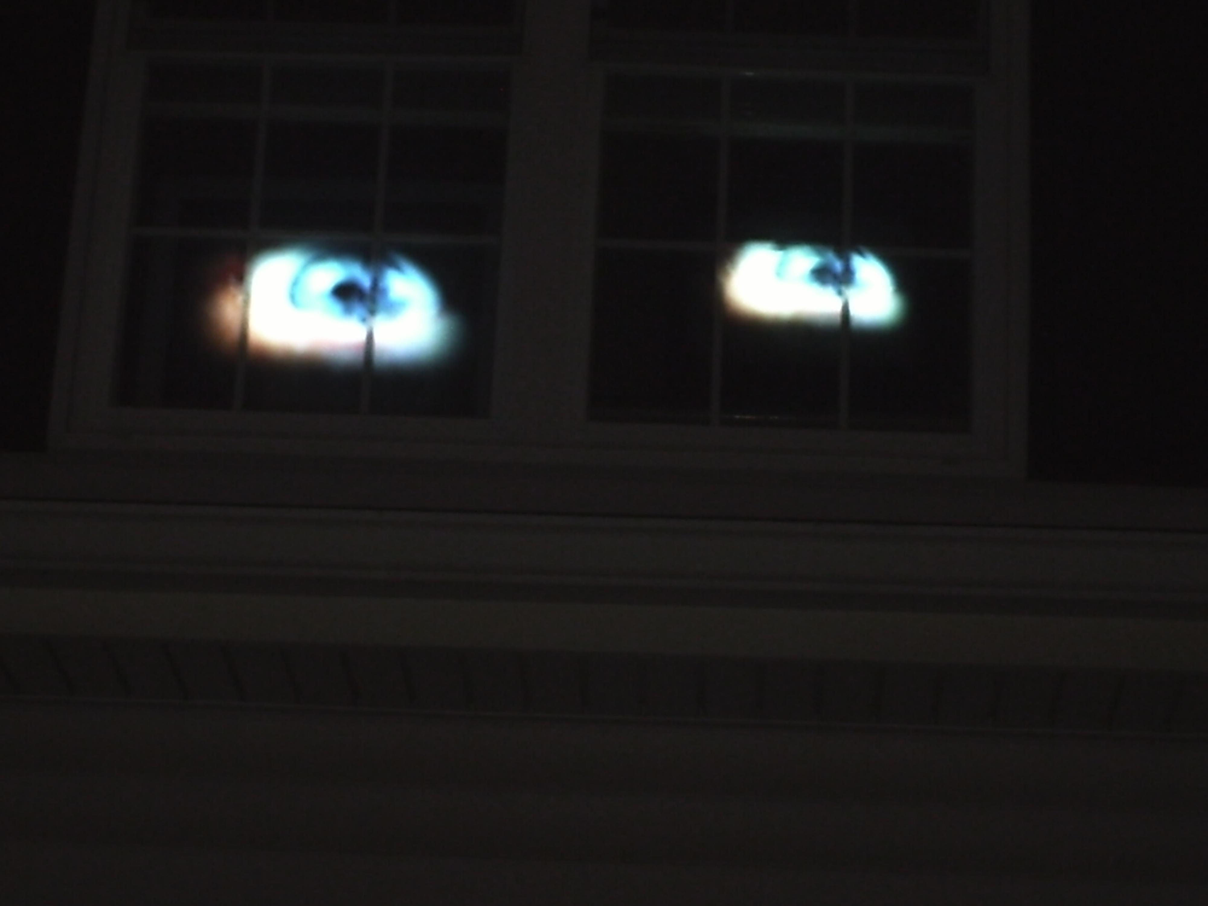 Haunted House Eyes....