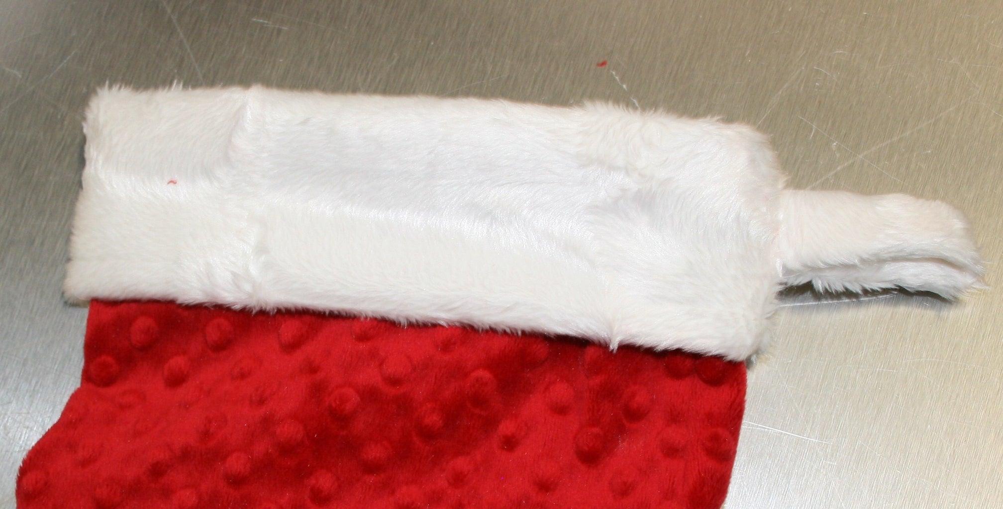 Sew Cuff to Stocking