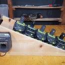 Battery Slide (Cordless Tool Battery Holder)