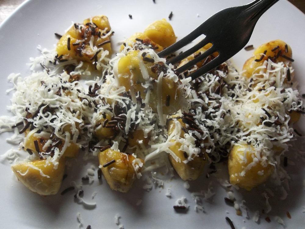 Cheesy Chocolate Banana