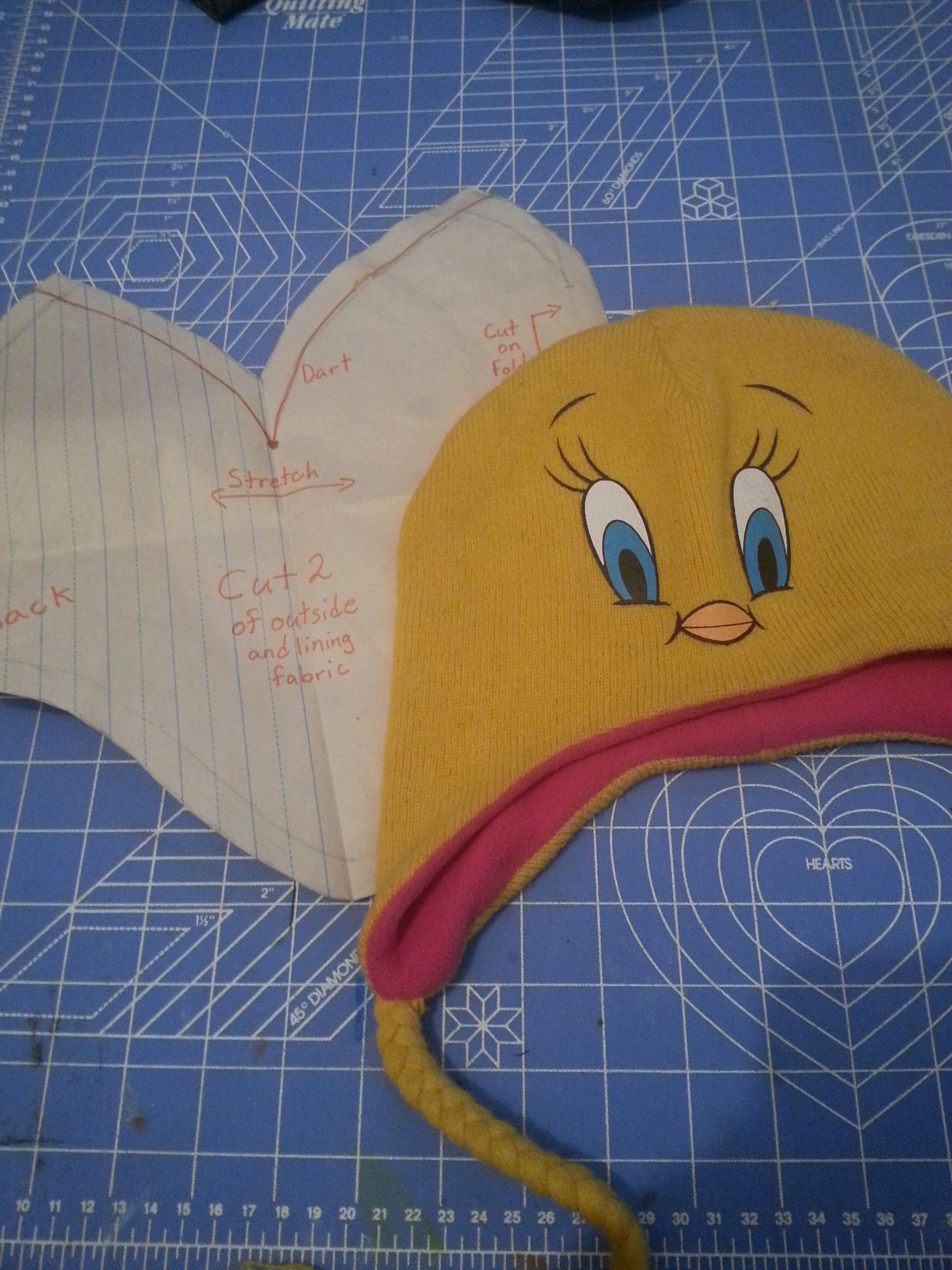 How To Make A Pattern From A Hat You Already Have.