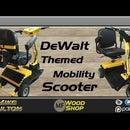 DeWalt Themed Mobility Scooter