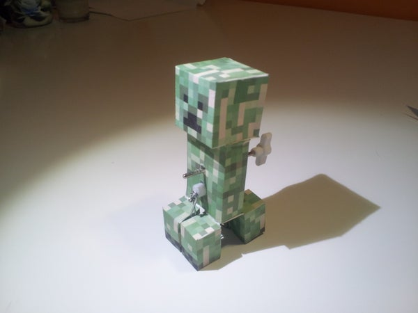 Windup MineCraft Creeper