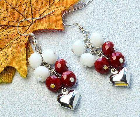 Beebeecraft Tutorials on How to Make Heart Earrings