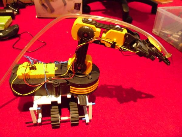 Robotic 3D Printer