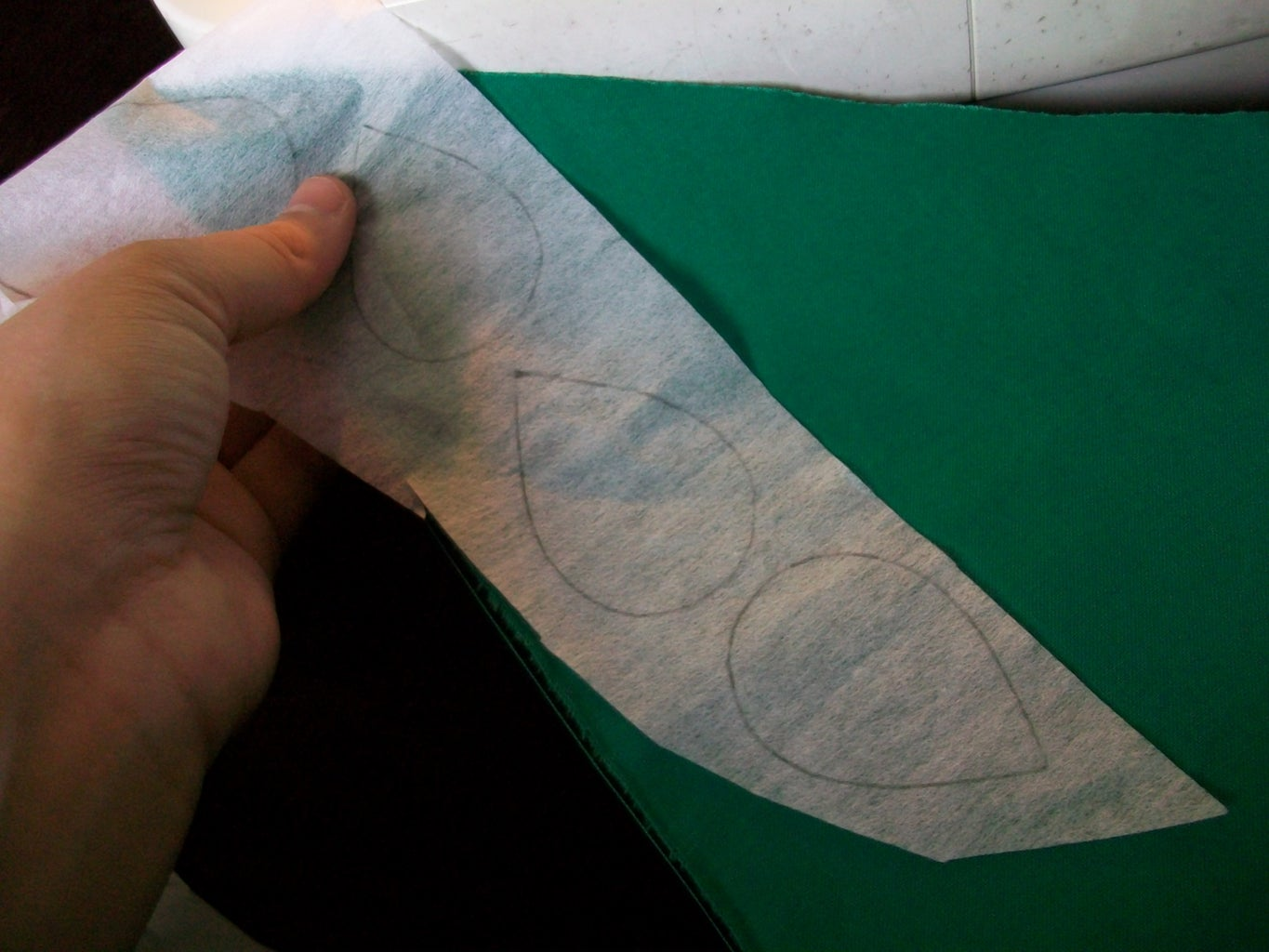 Step 2 - Sewing the Fabric Pieces