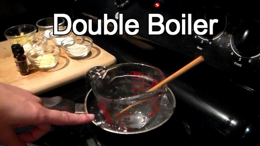 Set Up Double Boiler With Boiling Water