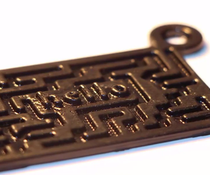 3D Printing-Creating a  Printable 3D Keychain Using SelfCAD's Drawing Tool