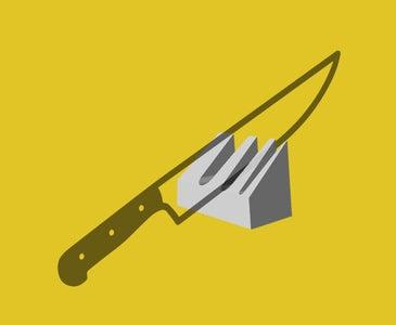 Sand Casted -  Knife Holder