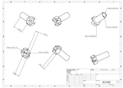 Technical Drawing for 3D Printing
