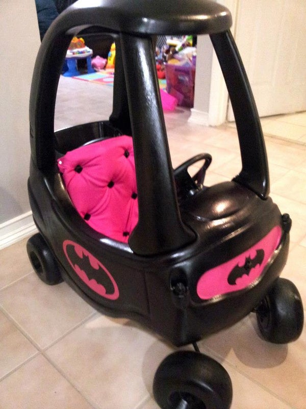 Little Girl's Bat Mobile!