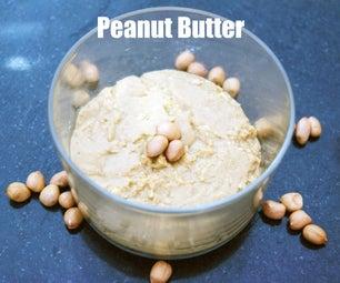 Homemade Peanut Butter - It's Yummy