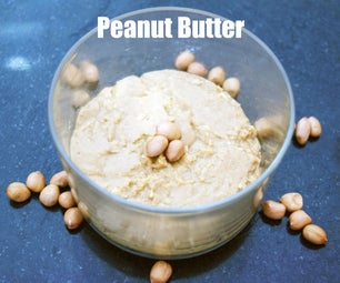Homemade Peanut Butter - It's Yummy