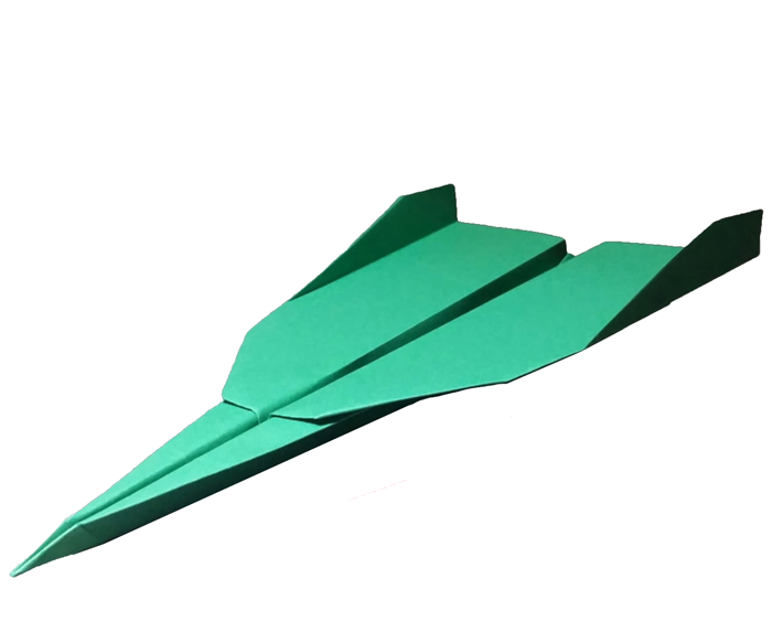 How to Make a Paper Airplane That Flies Far - Easy | Grey 2