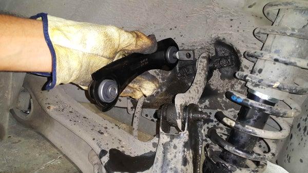 Replacing Rear Suspension Upper Control Arms (Honda Civic 1999 EK3).