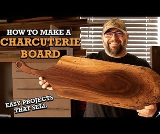 DIY Charcuterie Board - a One Day Project That Sells