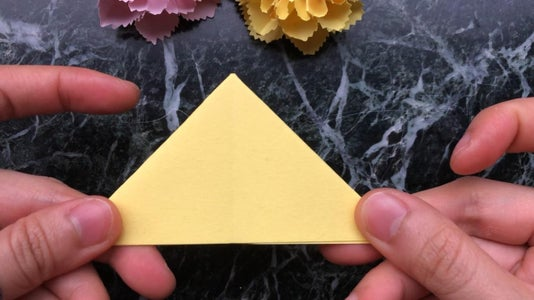 Fold a Square Paper Into an Equilateral Triangle Then the Kite Shape