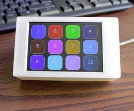 Raspberry Pi Pico Matrix Touchscreen Keyboard