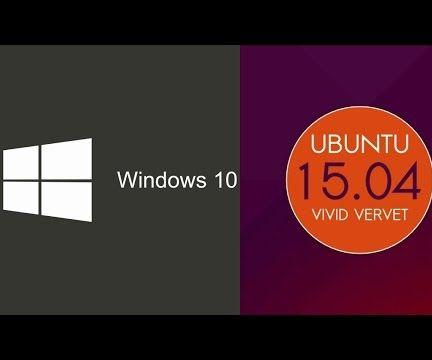 Dual Boot Windows 10 With Ubuntu 15.04
