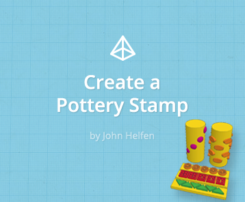 Create a Pottery Stamp