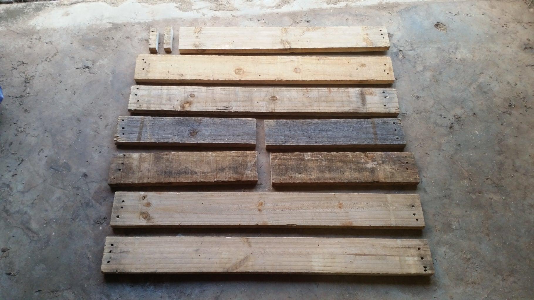 Cutting the Wood: