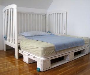 DIY Kids Palette Bed XXL Upgrade