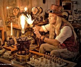 "Steampunk Lamp ""The MERKER Light"""