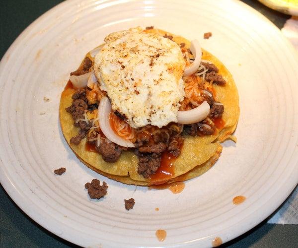 Texas Style Stacked Enchiladas