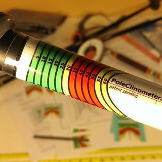 Ski Pole Inclinometer