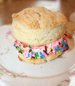 Place the Second Biscuit and Put It on Top.