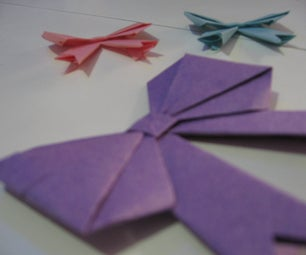 *DIY Paper Bow*
