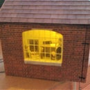 Detailing Model Buildings With LEDs and Furniture