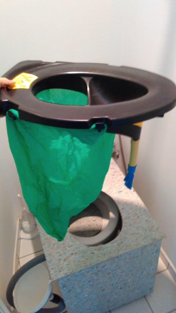 UDDT Separator and Biodegradable Bag