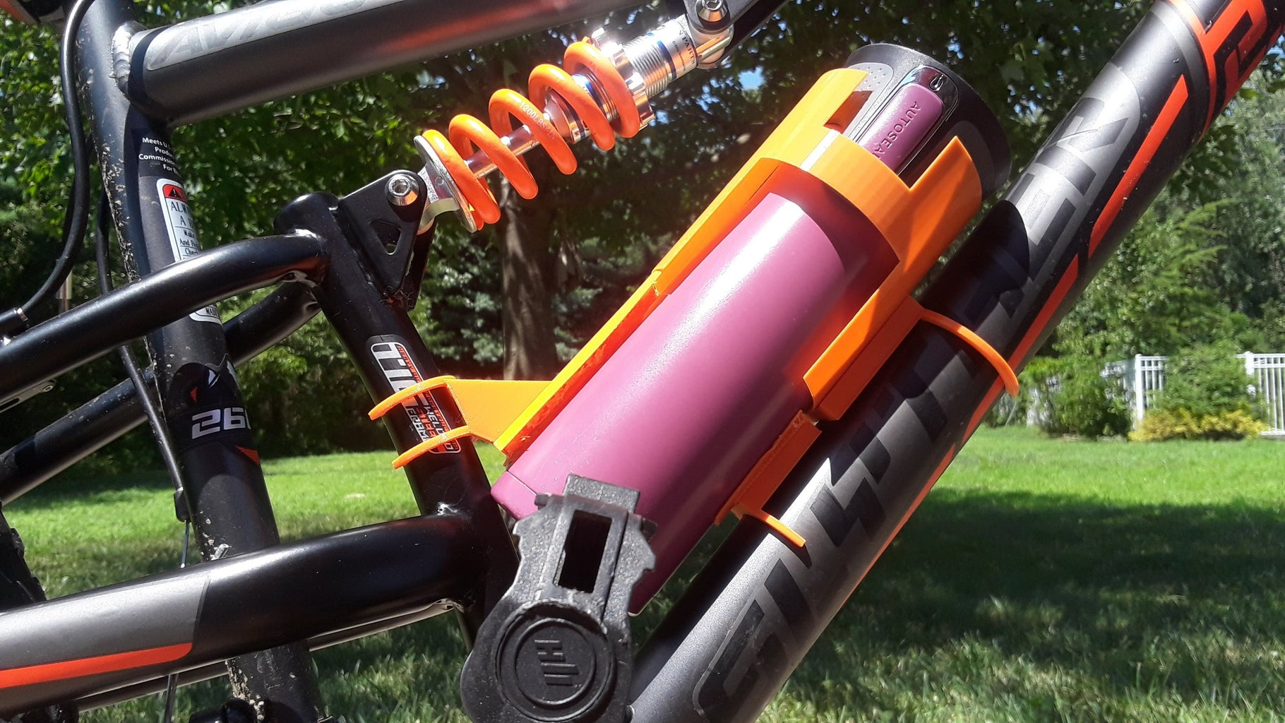 The Main Chassis/Water Bottle Compartment