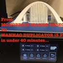 Convert Monoprice Maker Select Plus 3D to Wanhao Duplicator I3 Plus