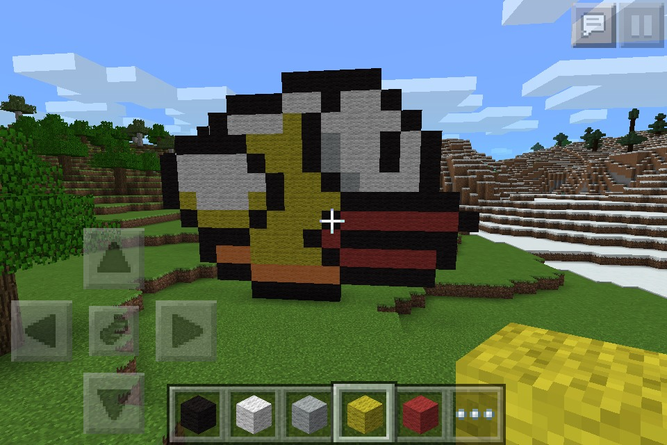 How To Make A Mine Craft Flappy Bord