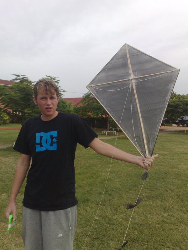 How to Make a Homemade Kite With Video
