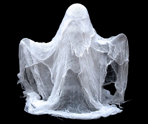 How to Make Cheesecloth Ghosts